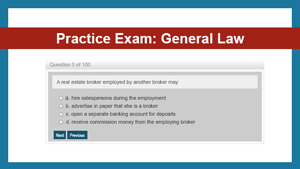 Practice Exam: General Law